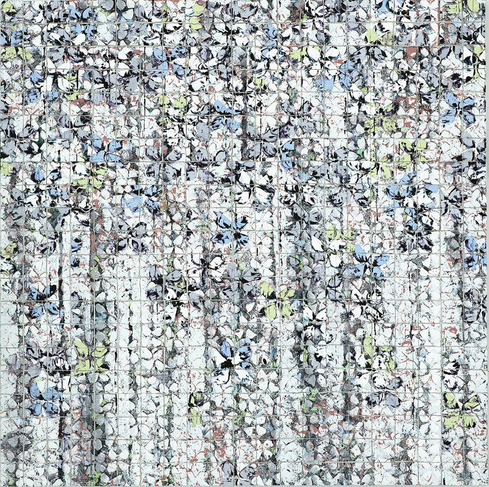 White & Gray Mosaic Series