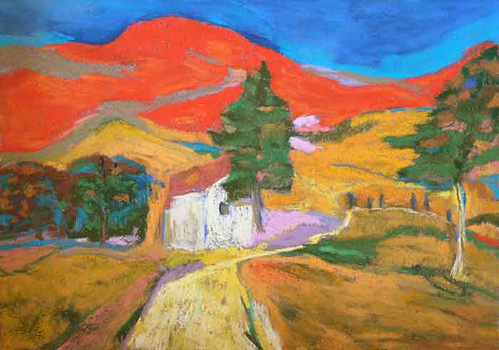 """Chileno Valley 14x12"""" $550 Sold"""