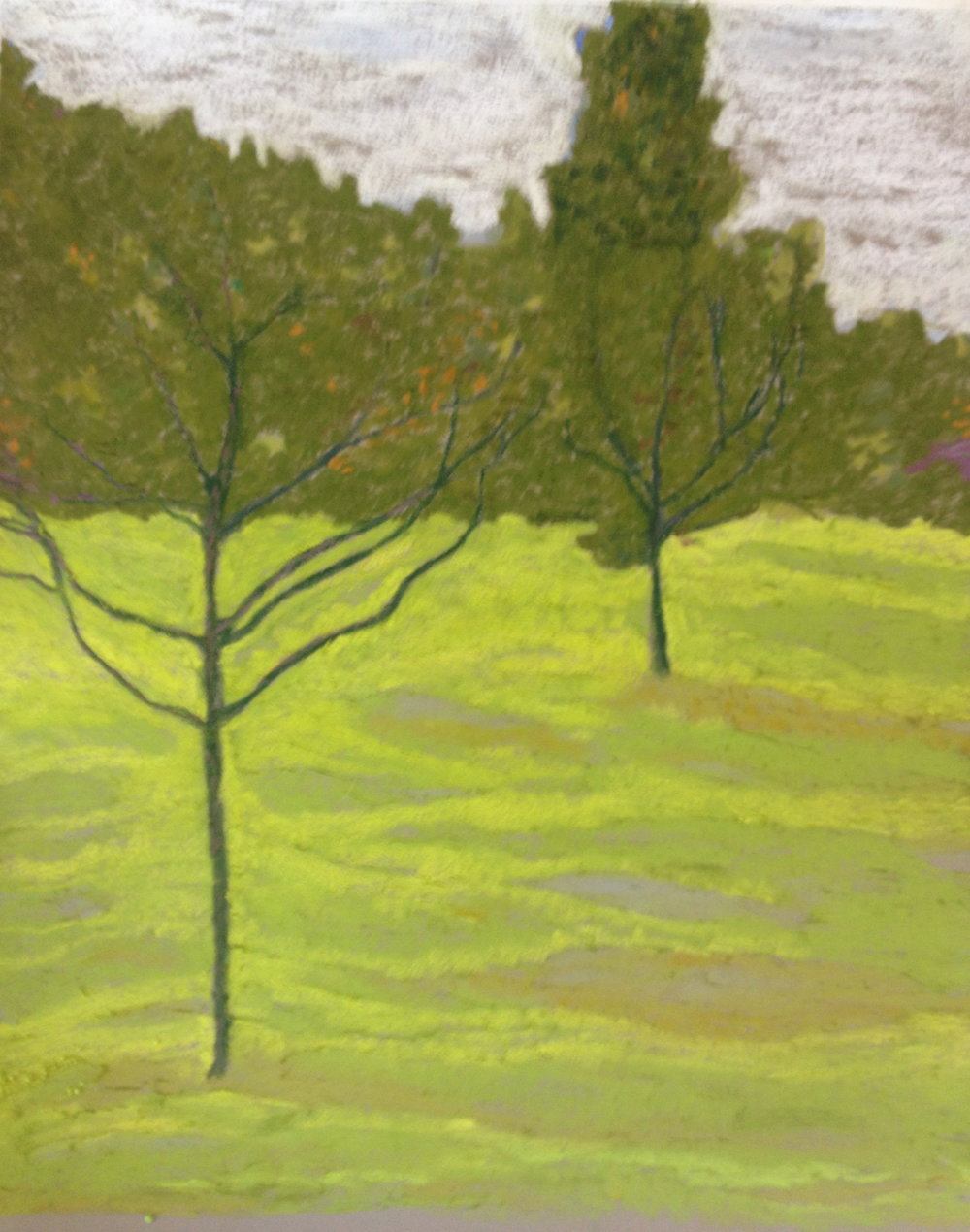"""Apple Orchard, 18x32"""" $1200 SOLD"""