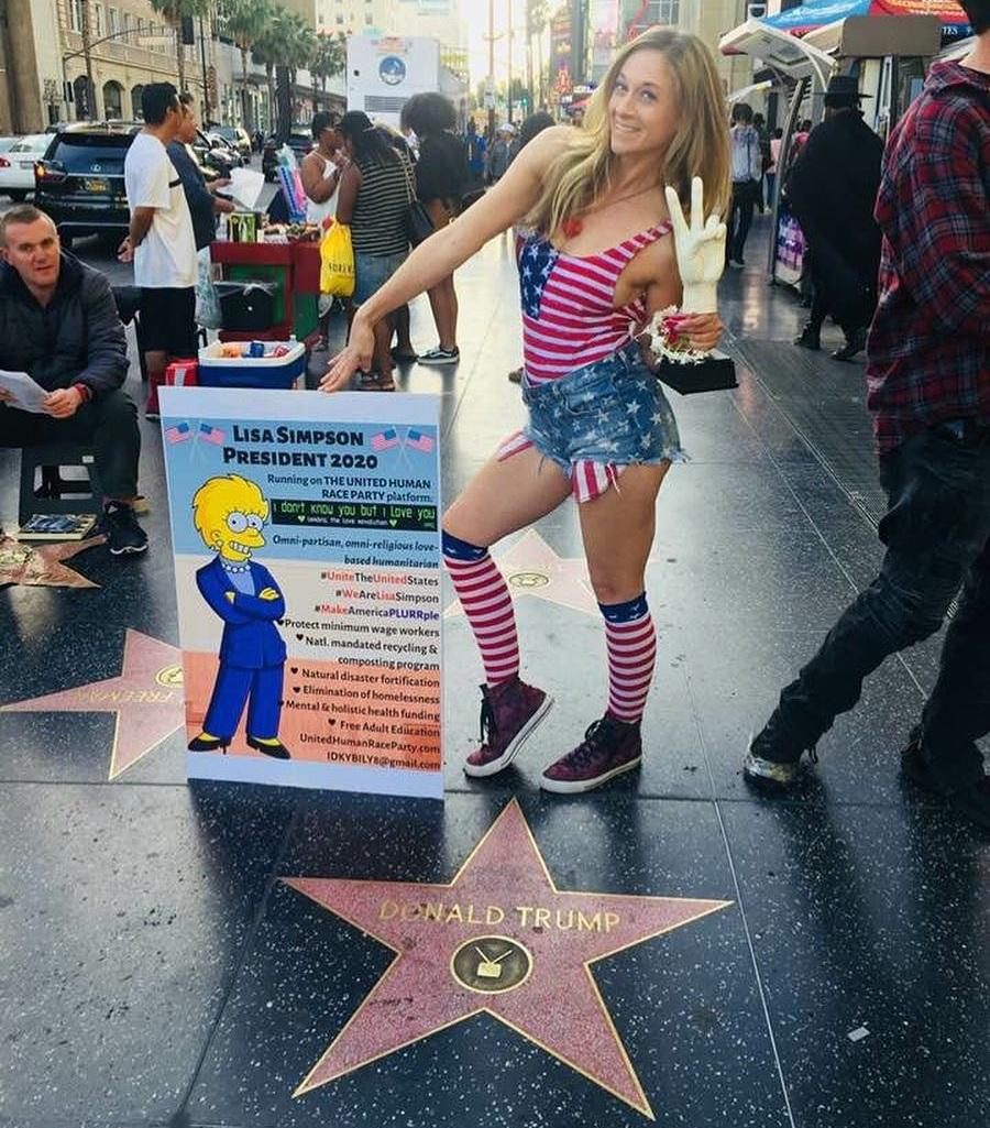 Lisa+Simpson+On+Trump+Start