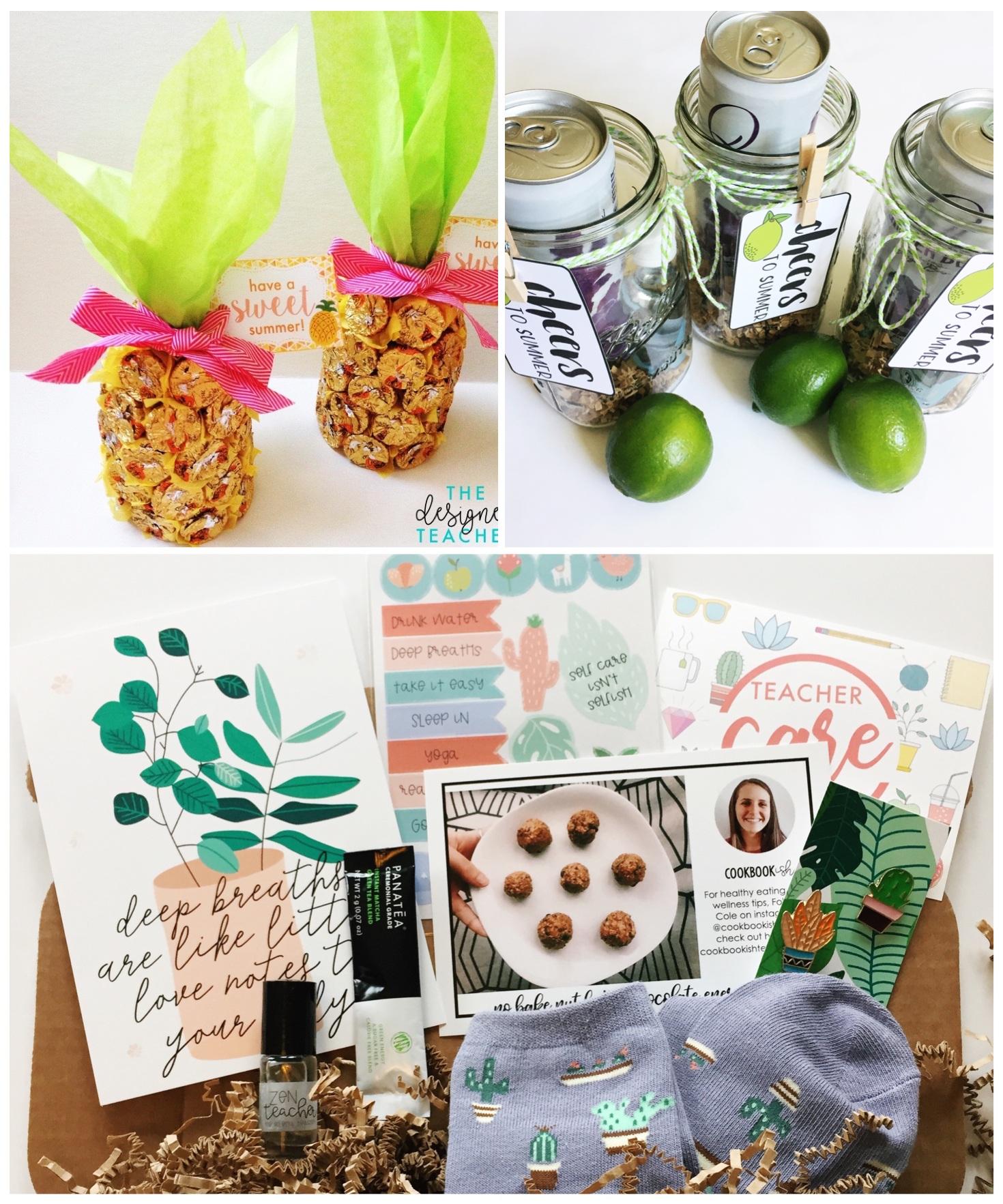 3 Super Cute End Of The Year Teacher Gifts The Designer Teacher