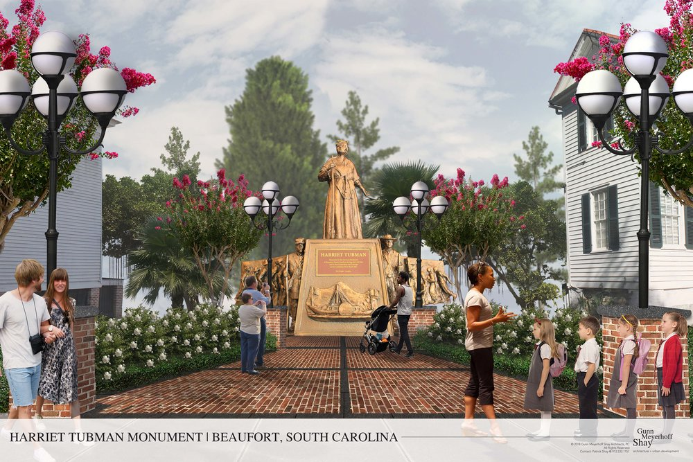 Become a part of something great. - We are building a Monument to honor Harriet Tubman.