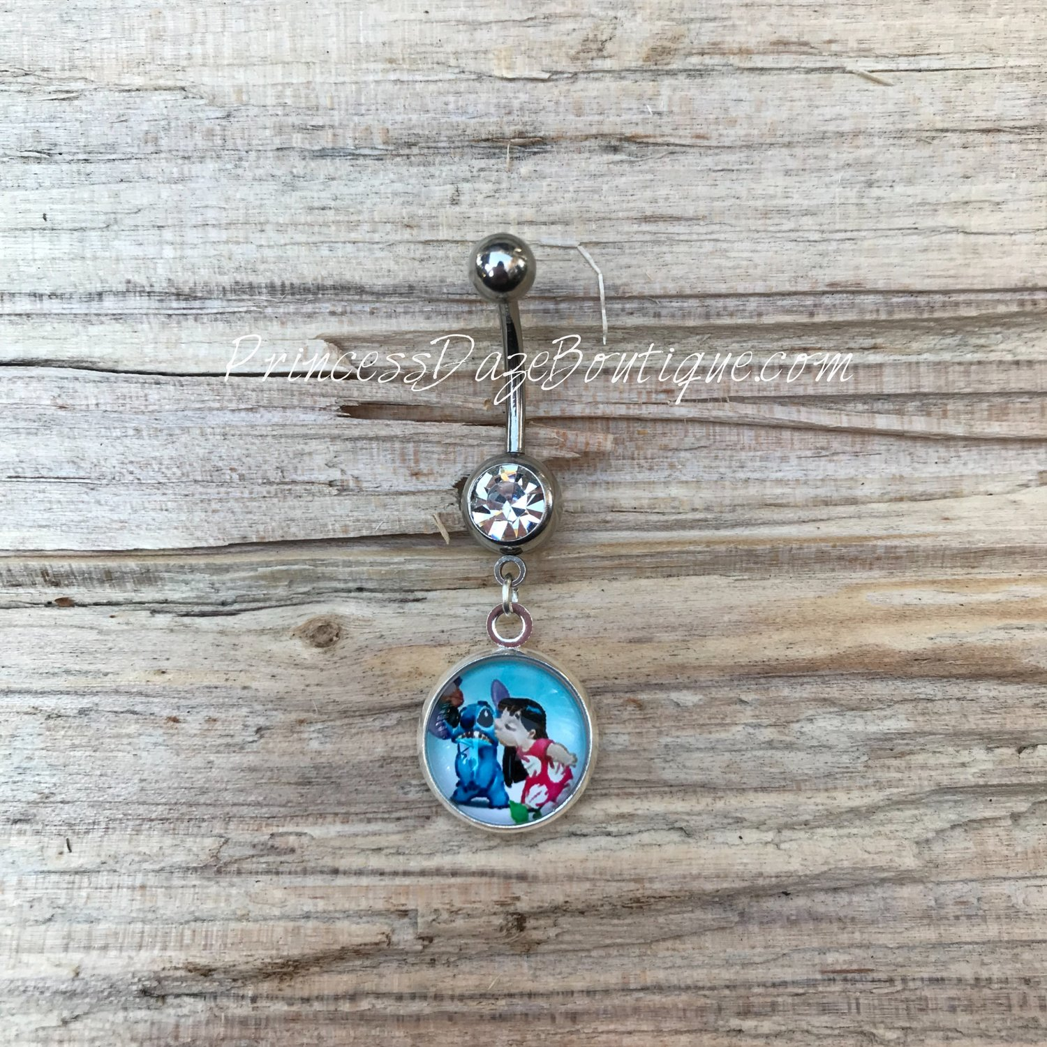 Lilo Stitch Belly Button Ring