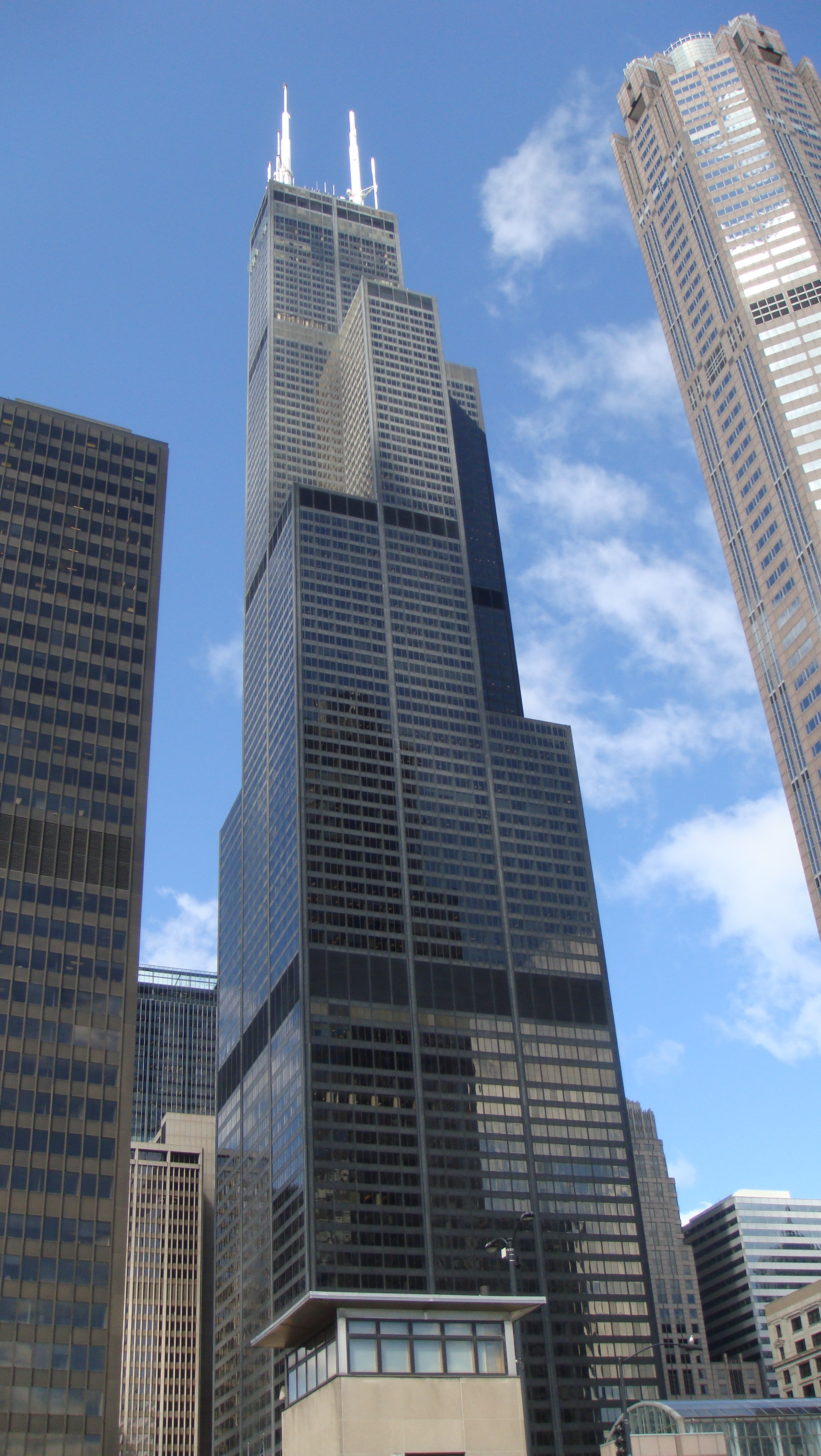Sears Tower. Also known as the Willis Tower.