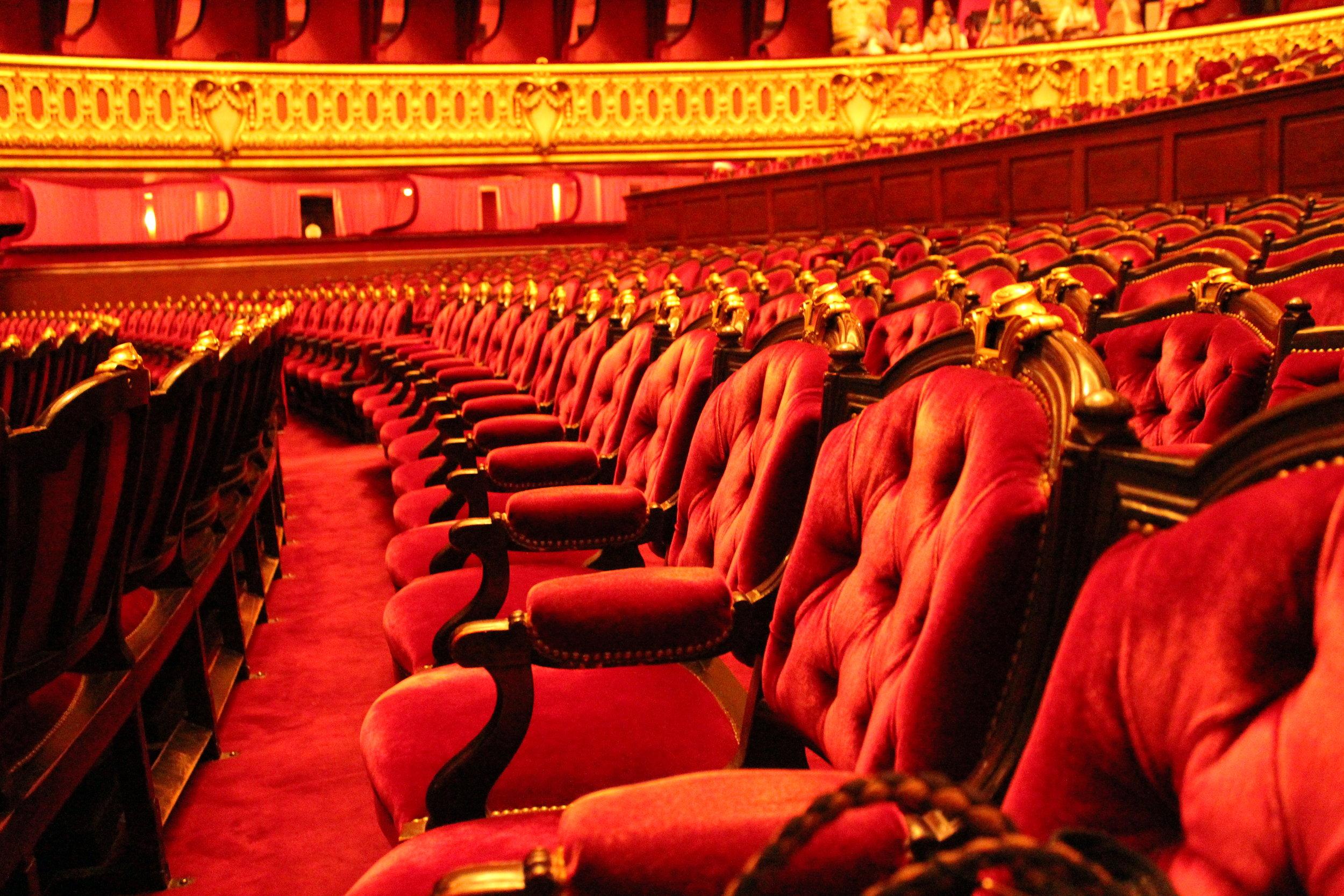 "The Ampitheatre's ""cheap"" seats."