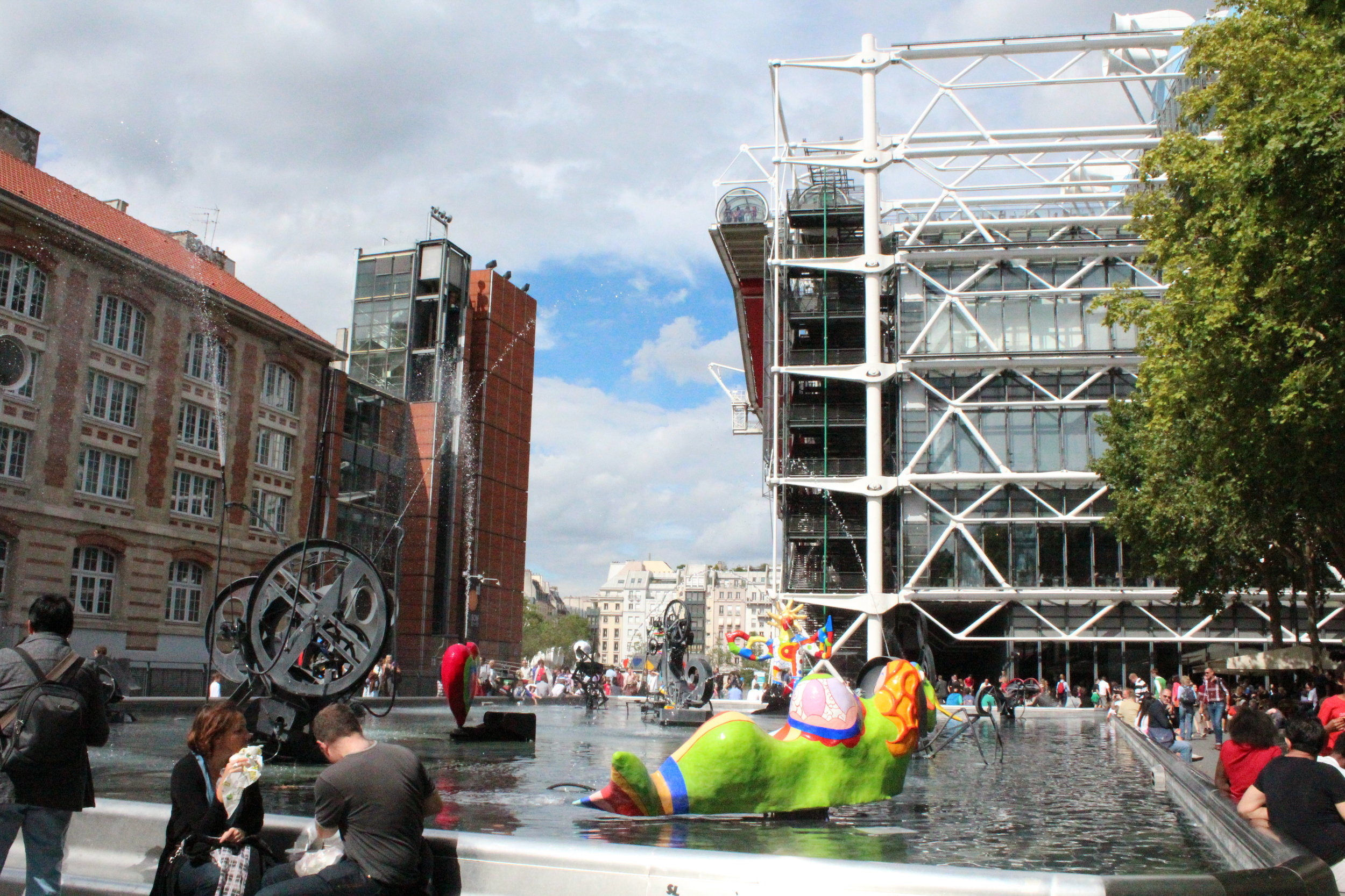 MIró playthings, fountain, Paris