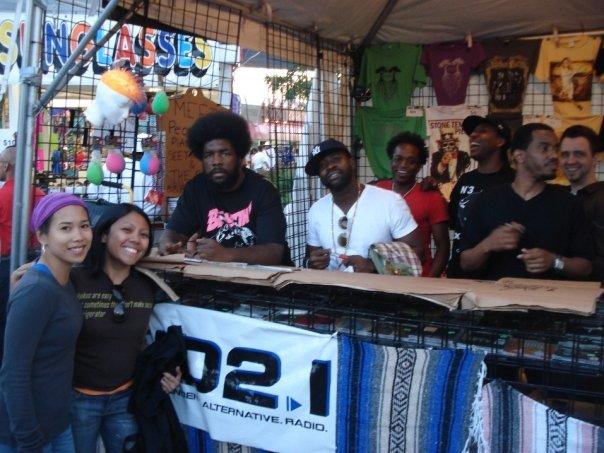 Meeting The Roots! Milwaukee Summerfest 2008