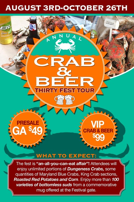 Crab and Beer Festival Scam