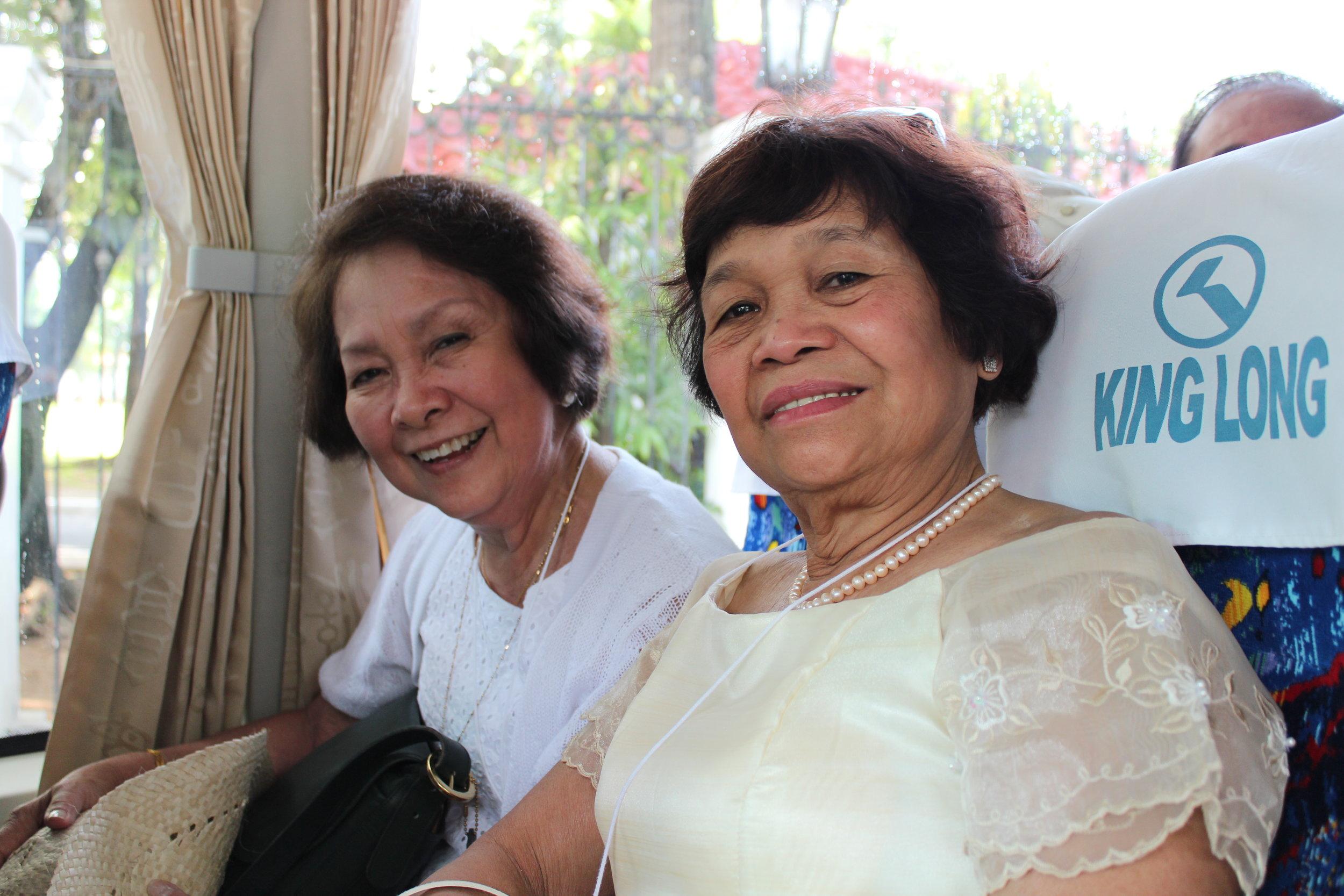 New friends, Philippines Ambassadors' tour 2013