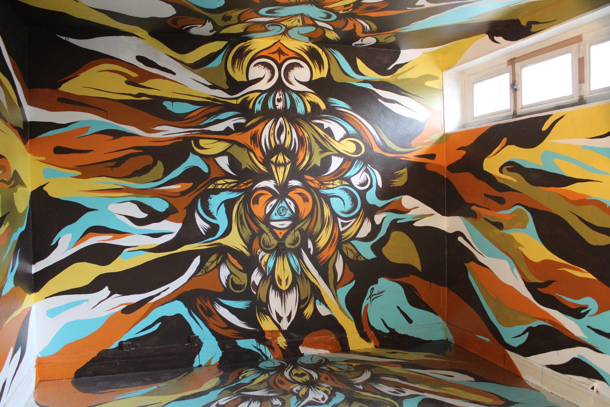 Artist Arraiano, room 922, floor 2, #tourparis13