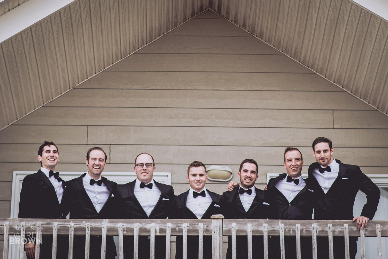 groomsmen portrait wedding photography