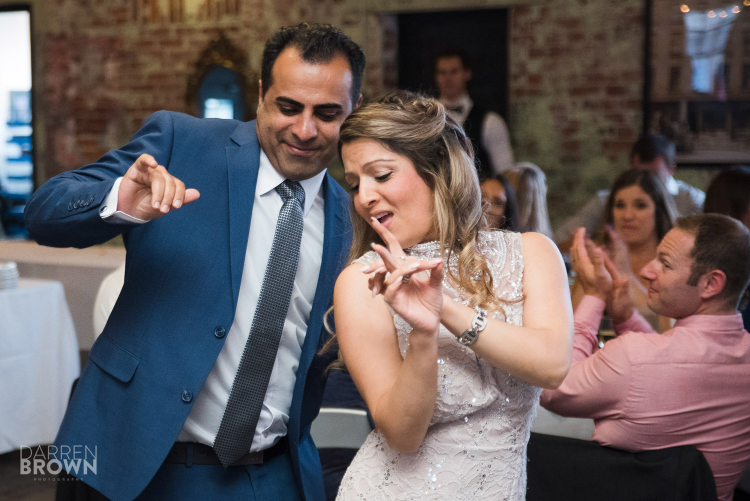 guests dance at zibi wedding in Ottawa
