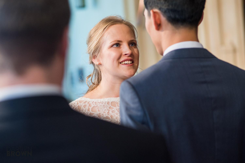 bride says vows