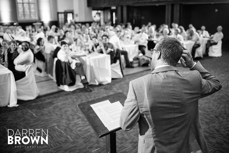 best man giving speech at ottawa wedding