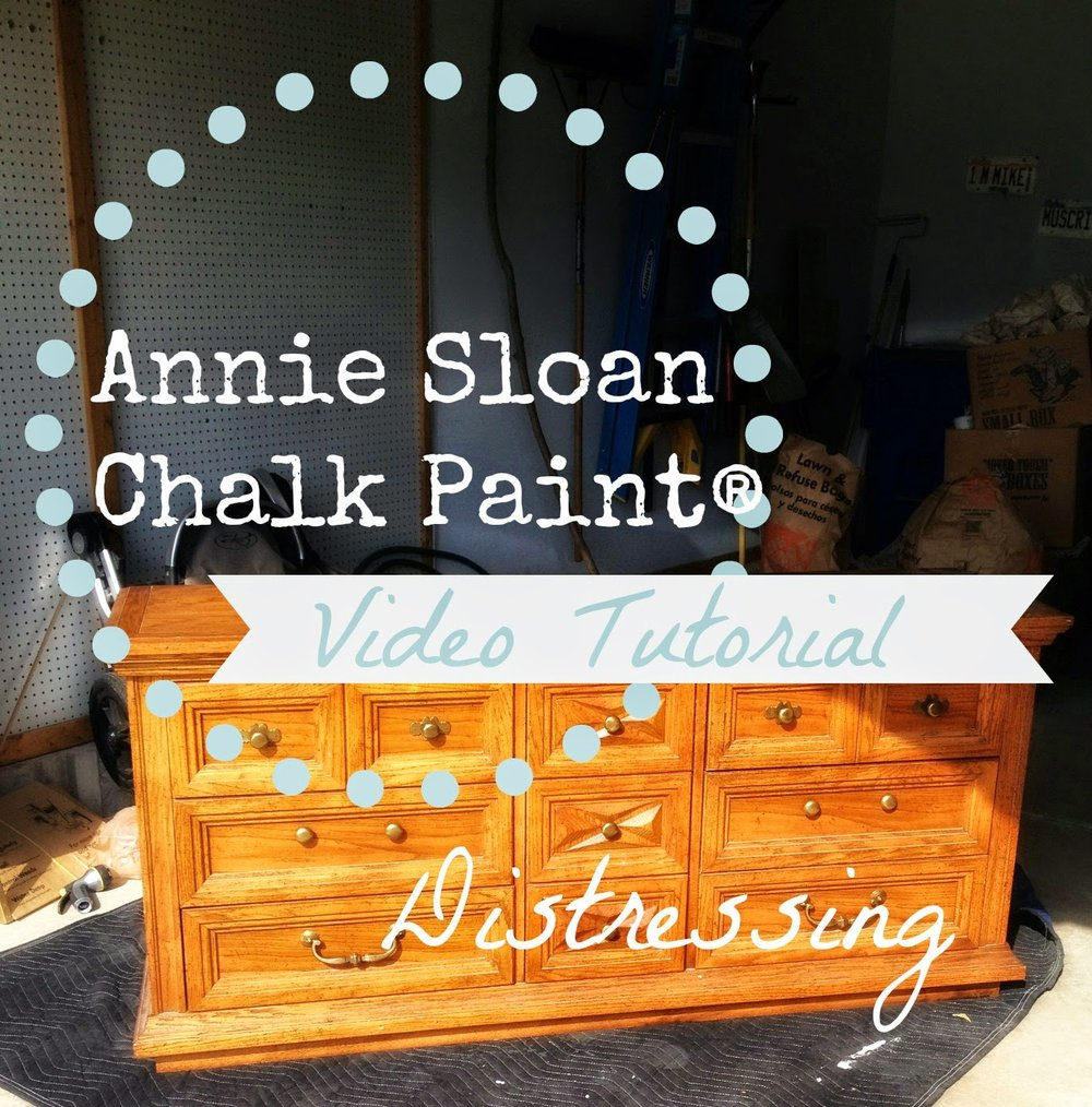 chalk paint video tutorial