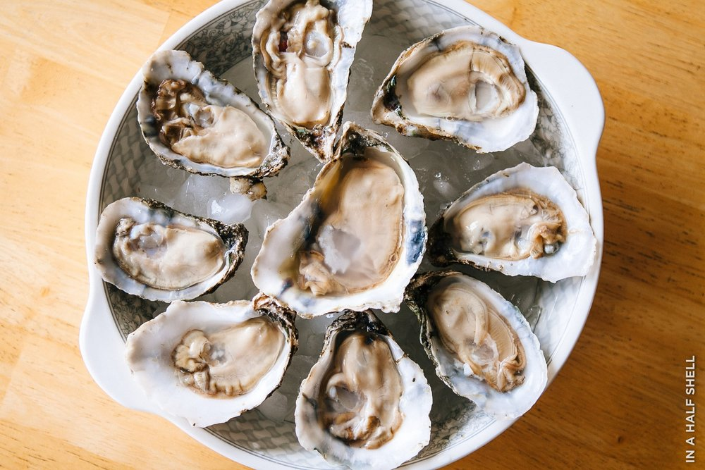 How To Enjoy Oysters At Home — In A Half Shell