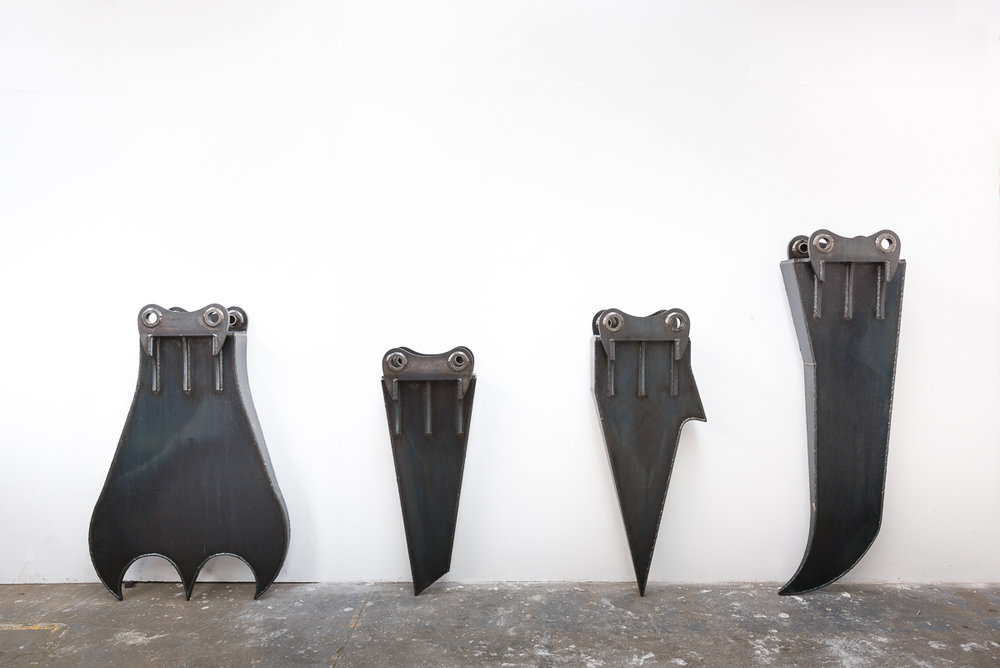 James Capper,  Mountaineer Teeth  (installation view)