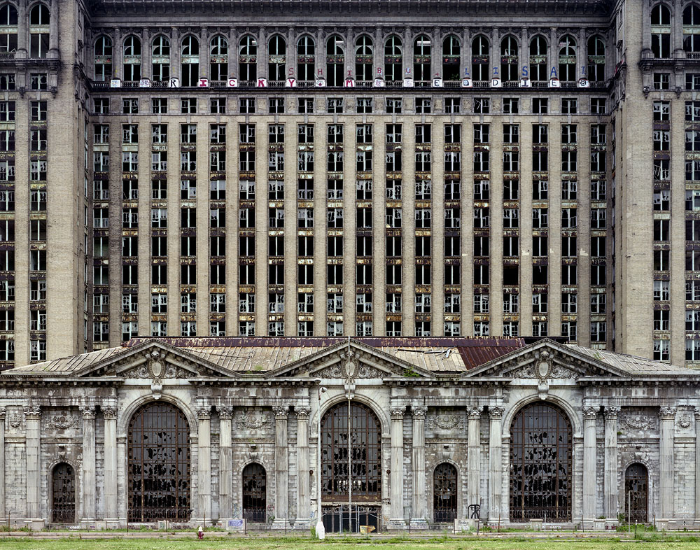 Yves Marchand & Roman Meffre,  Michigan Central Station , 2007