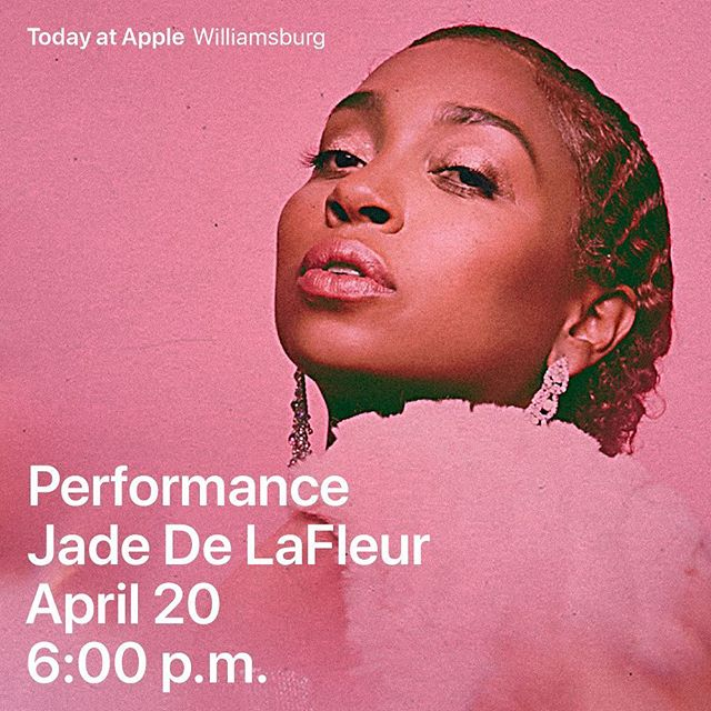 Write down your goals & Vocalize your intents & aspirations. Believe 💯% !! Last year I wrote that I wanted to do a session with @apple ,in my journal, and this year, on 4/20, I'll B seeing u 🐎 Let's talk & Get Active  W/ #THEGREENHORSE  Apple Williamsburg  4/20  6pm Hit the Link to sign up #TodayAtApple #JadedeLafleur  #Convo'sWithFriends