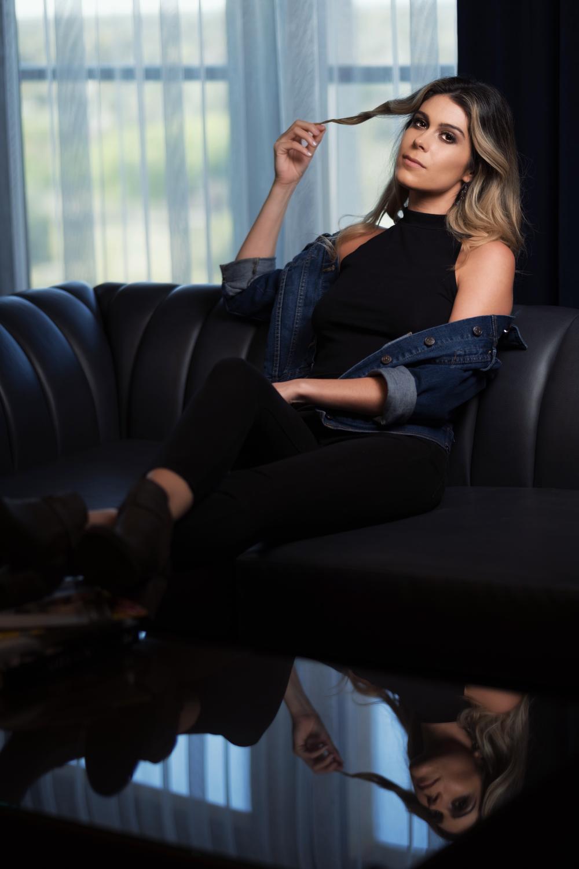 Model: Julie Delgado, Makeup: Felicia Gonzalez, Location: FoundRe: Hotel, Phoenix, Az. April 2019.