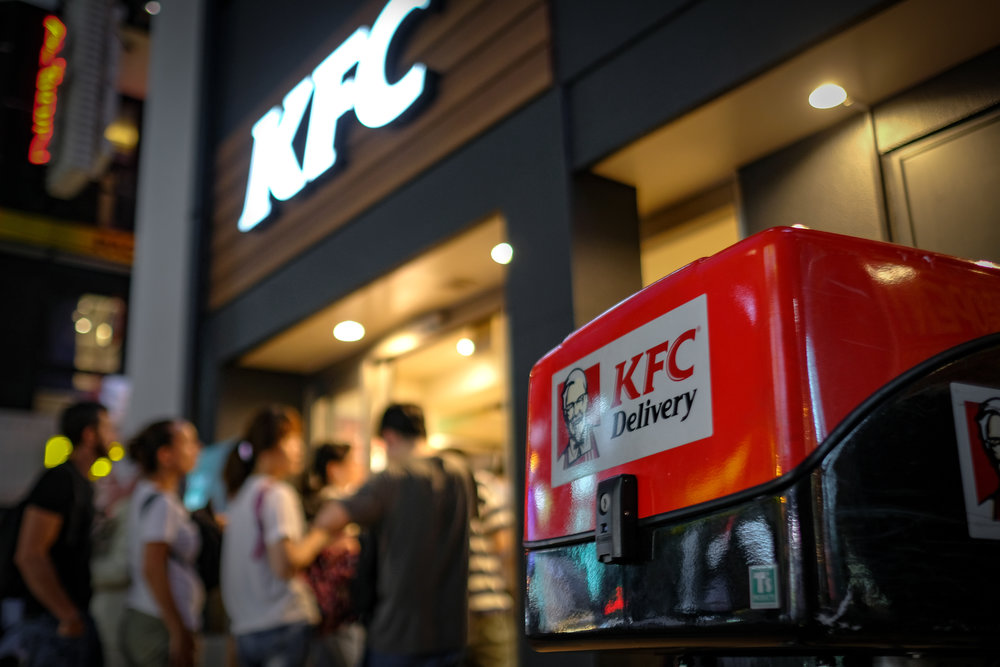 KFC Ad In The Making?