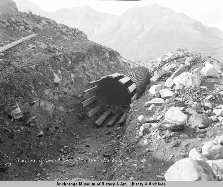 Pipeline of Seward Ditch in the Sawtooth Range..jpg