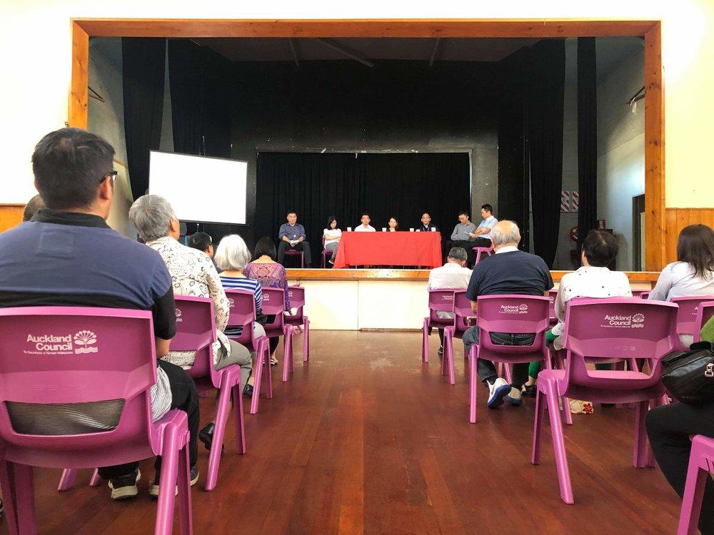 Chinese Community Health Talk - Autumn 2019 - Sat 16 March 2019Panmure Community Hall