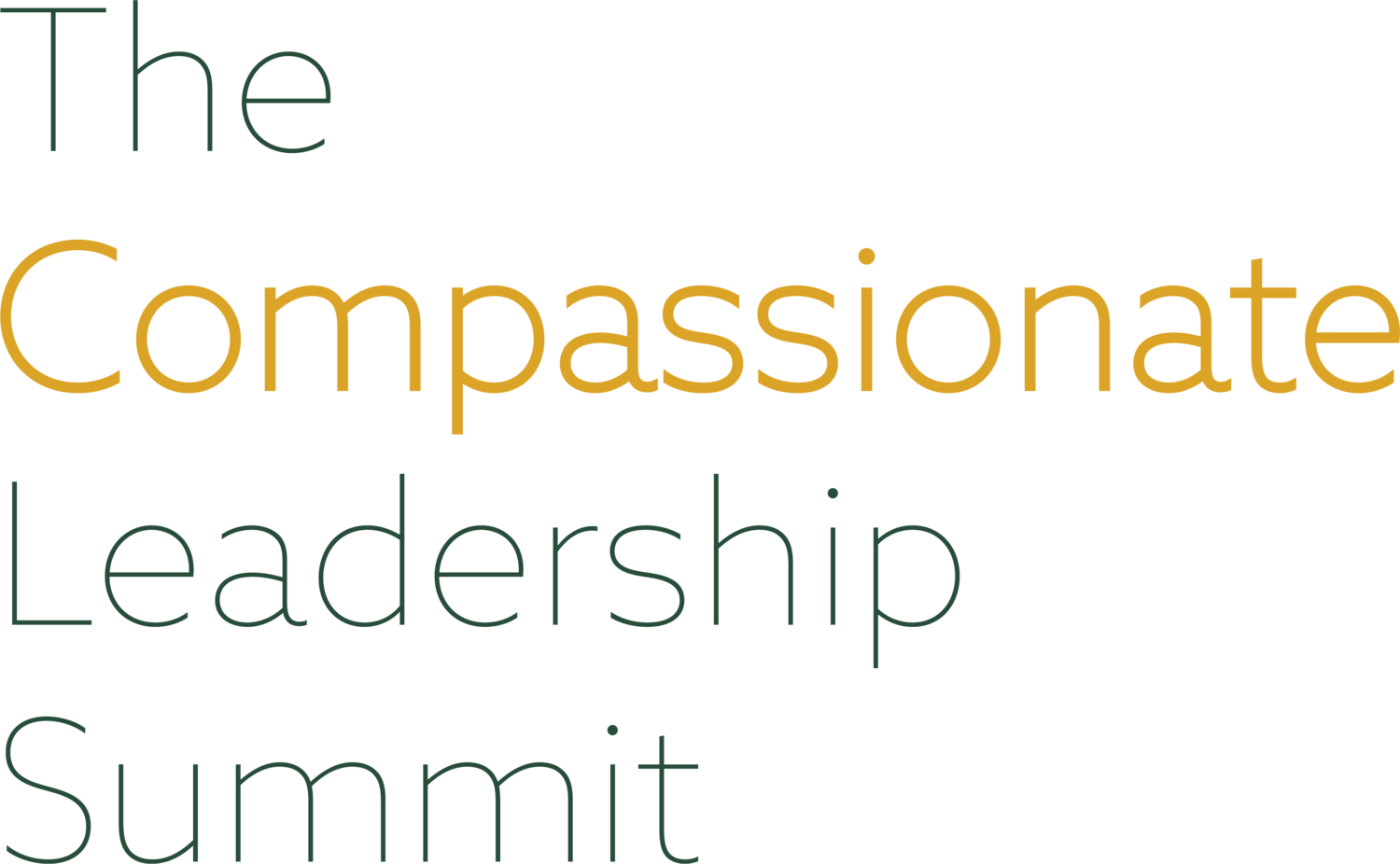 Compassionate Leadership Summit