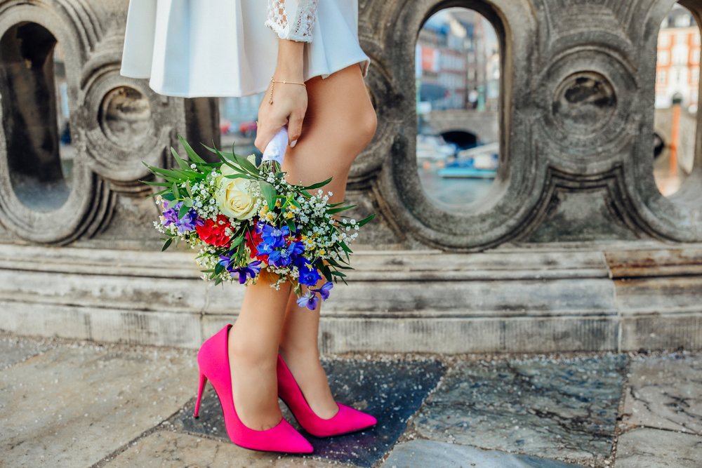 """Shoes - We don't want you to be a statistic or newest member of the """"Fallen Women's Club."""" Men, we don't expect you to be in heels, but there is a men's chapter too. Please wear comfortable walking shoes."""