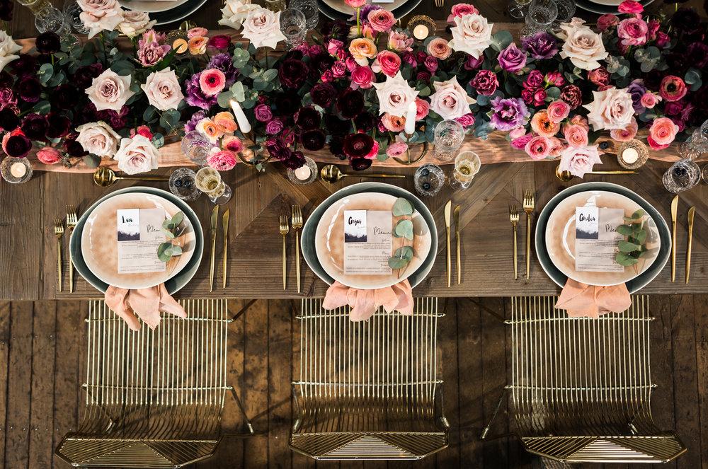 Polka Dot Bride - Moody Valentine's Day Inspiration Shoot