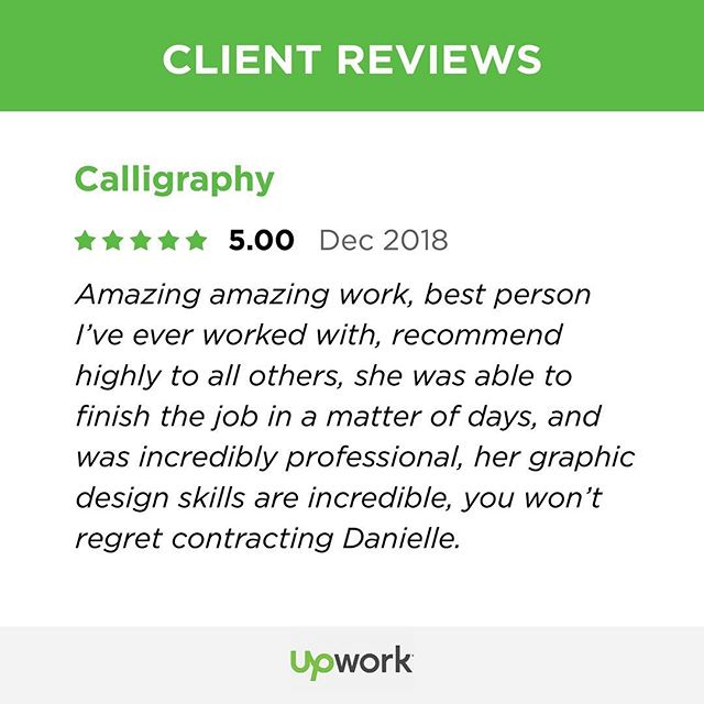 Client reviews giving me the warm fuzzies 😍❤️ #ilovemyjob  Contact me today about your project!