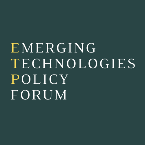 Leadership and governance — Emerging Technologies Policy Forum