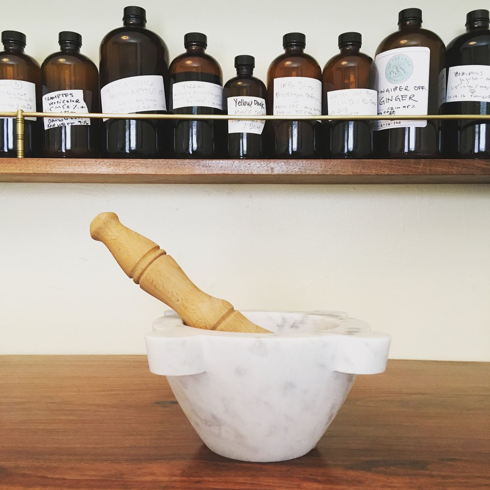 - The botanical medicine clinic is located in San Francisco's Mission district and is open by appointment only. Please send me an email if you would like to come in!Address: 3150 18th St. #242, San Francisco, CA 94110EMAIL: elizabeth@thelandapothecary.comPHONE: 510-384-7294