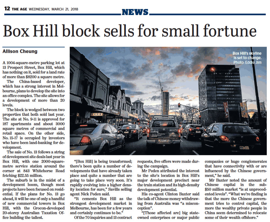 180321 - 13 Prospect Street, Box Hill (Article) - The Age.jpg
