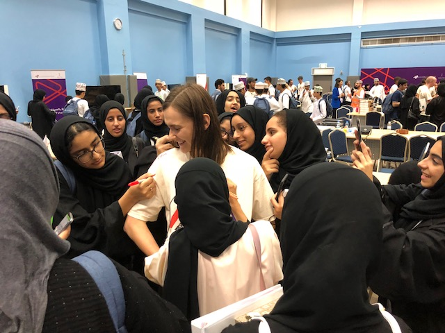 The first Hackathon for 15-17 year old students in Oman - Bespoke hackathon designed and facilitated for Firetech