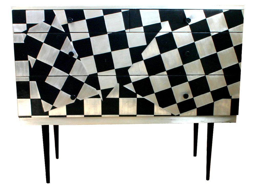 'Checkometry' Chest of drawers