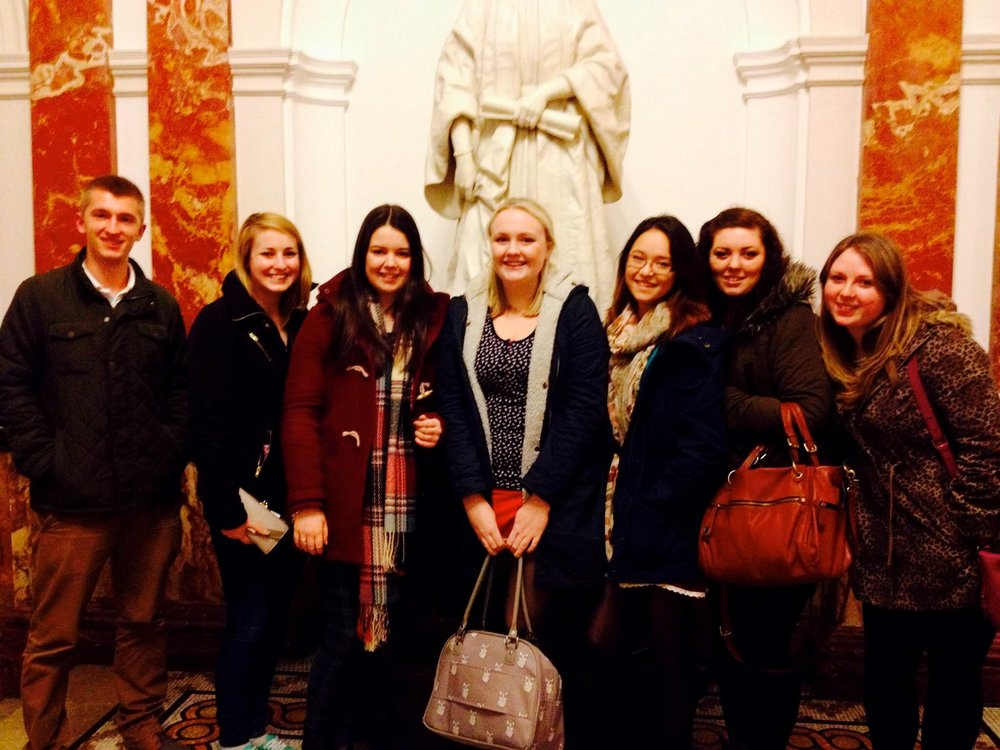 Field trip to Royal College of Music to see  Lars Mlekusch  class