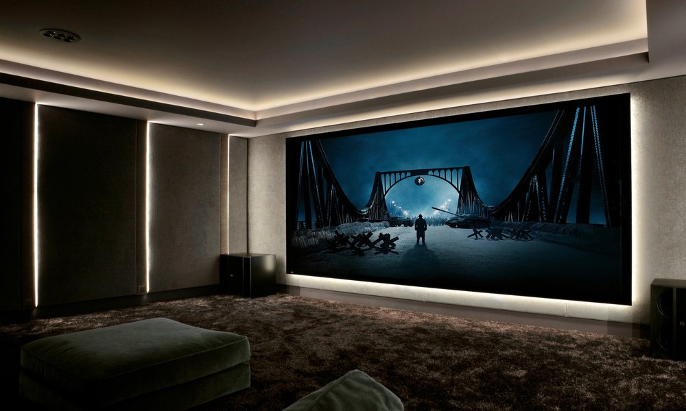 Screen Excellence are used on Living Home Cinema