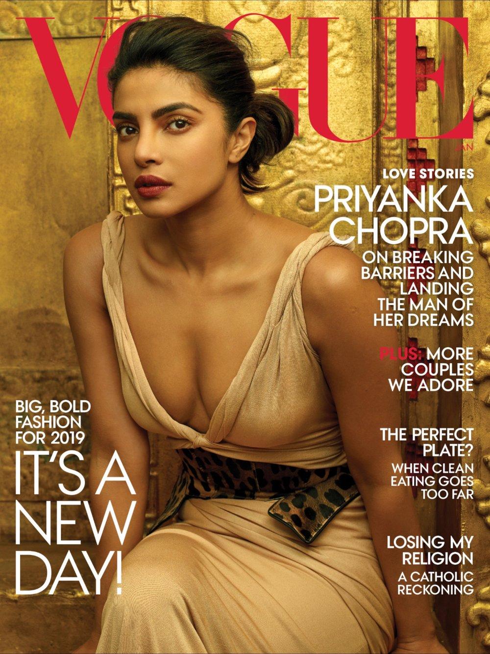 - - Vogue America - Gennaio 2019› Leggi l'articolo