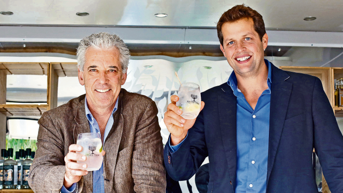 Charles en Tim, founders van Fever Tree