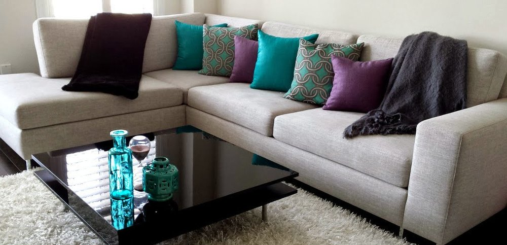 sofas and sectionals - emphasizing comfort. all pieces custom made to fit your space.