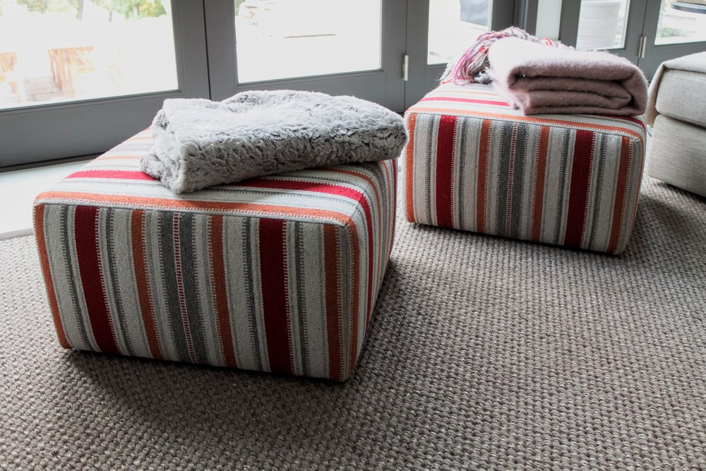 benches and ottomans - all benches and ottomans are custom made in any shape or size. custom built to order. add storage and further customize to suit your needs.