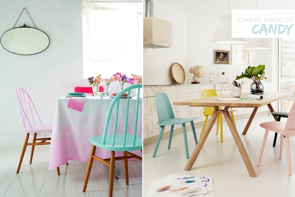 Dine X Design | Pastel Dining Room Trends
