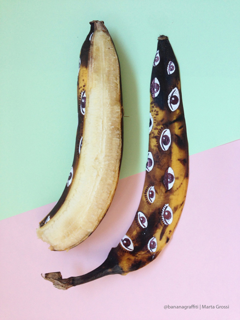 Banana Graffiti | Marta Grossi