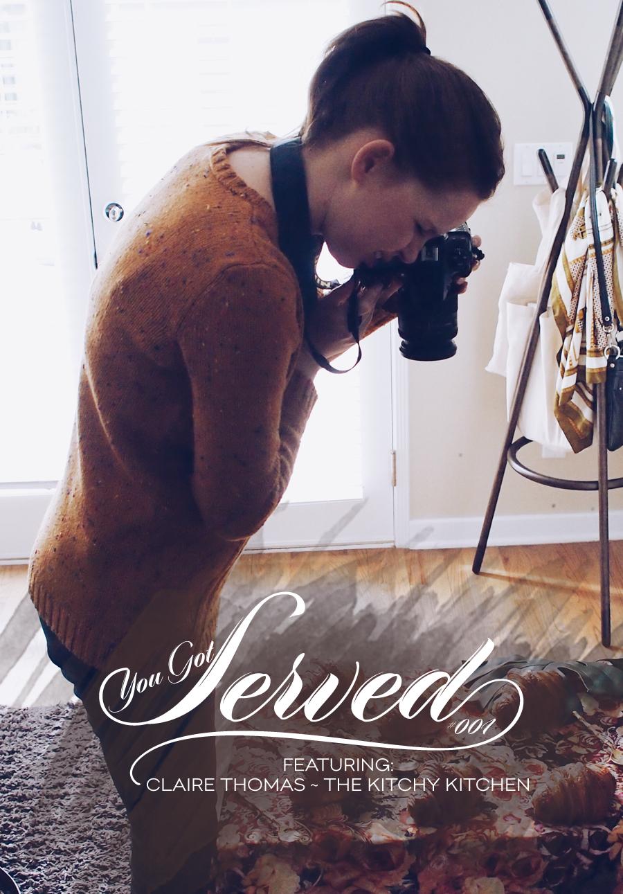 Dine X Design | Claire Thomas | You Got Served | Box 001
