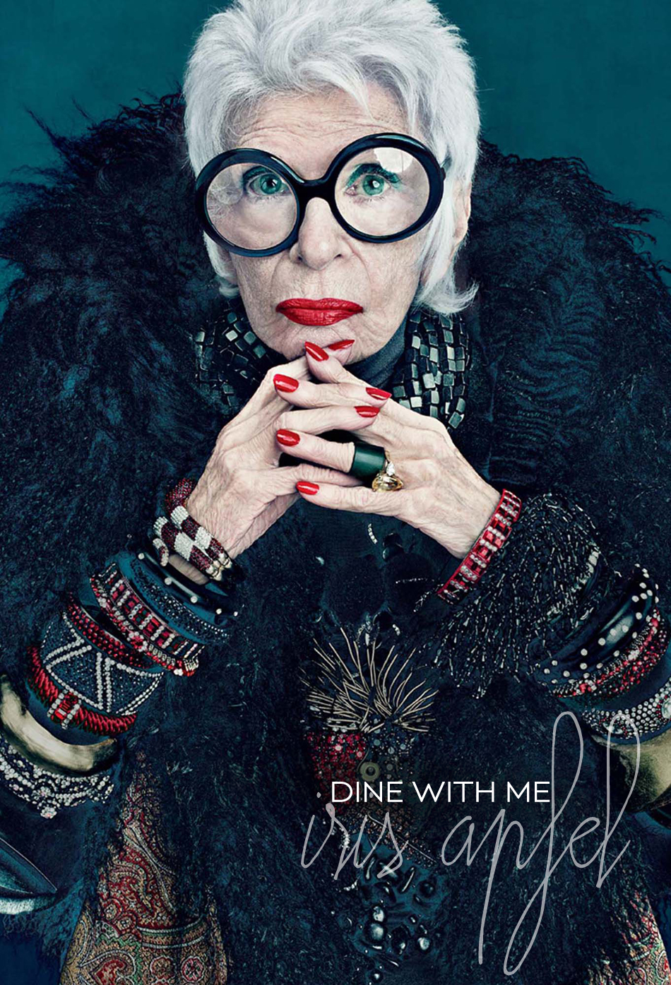 Dine X Design | Dine With Me Iris Apfel