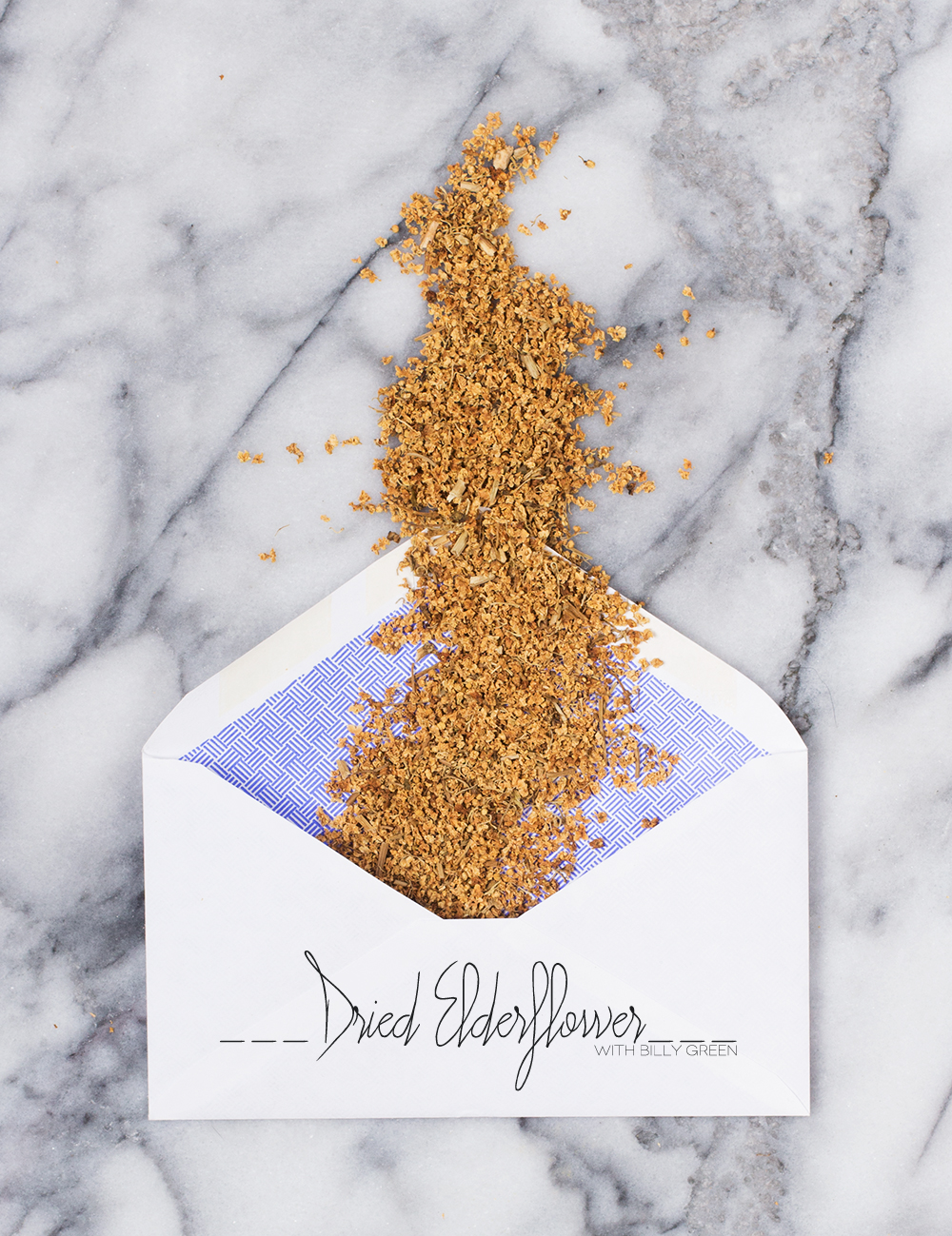 Dine X Design | Dried Elderflower