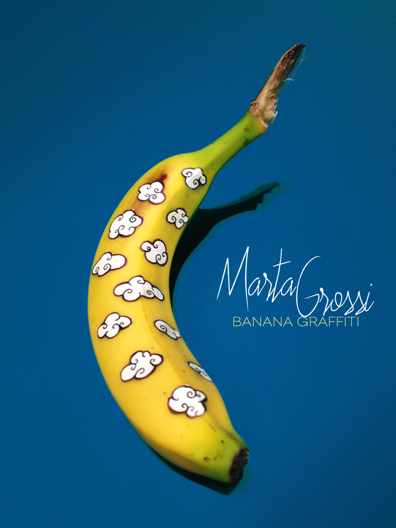 Dine X Design | Marta Grossi Banana Graffiti