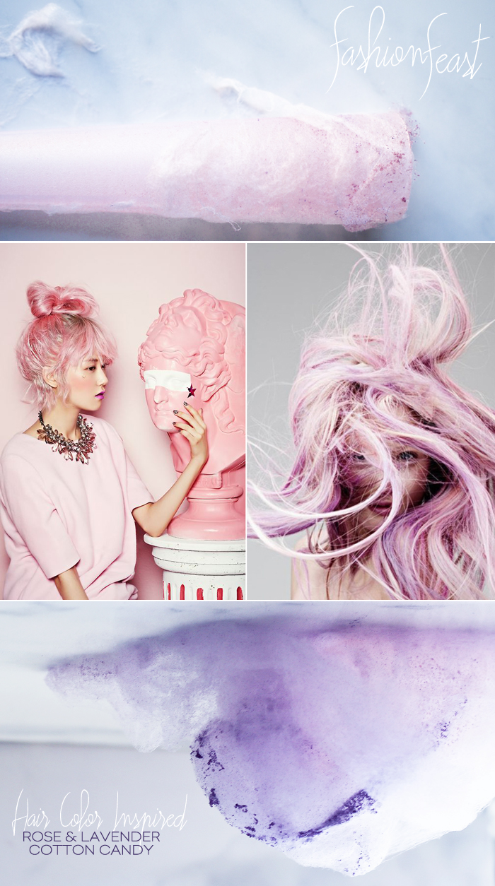 Dine X Design | Rose And Lavender Cotton Candy Recipe