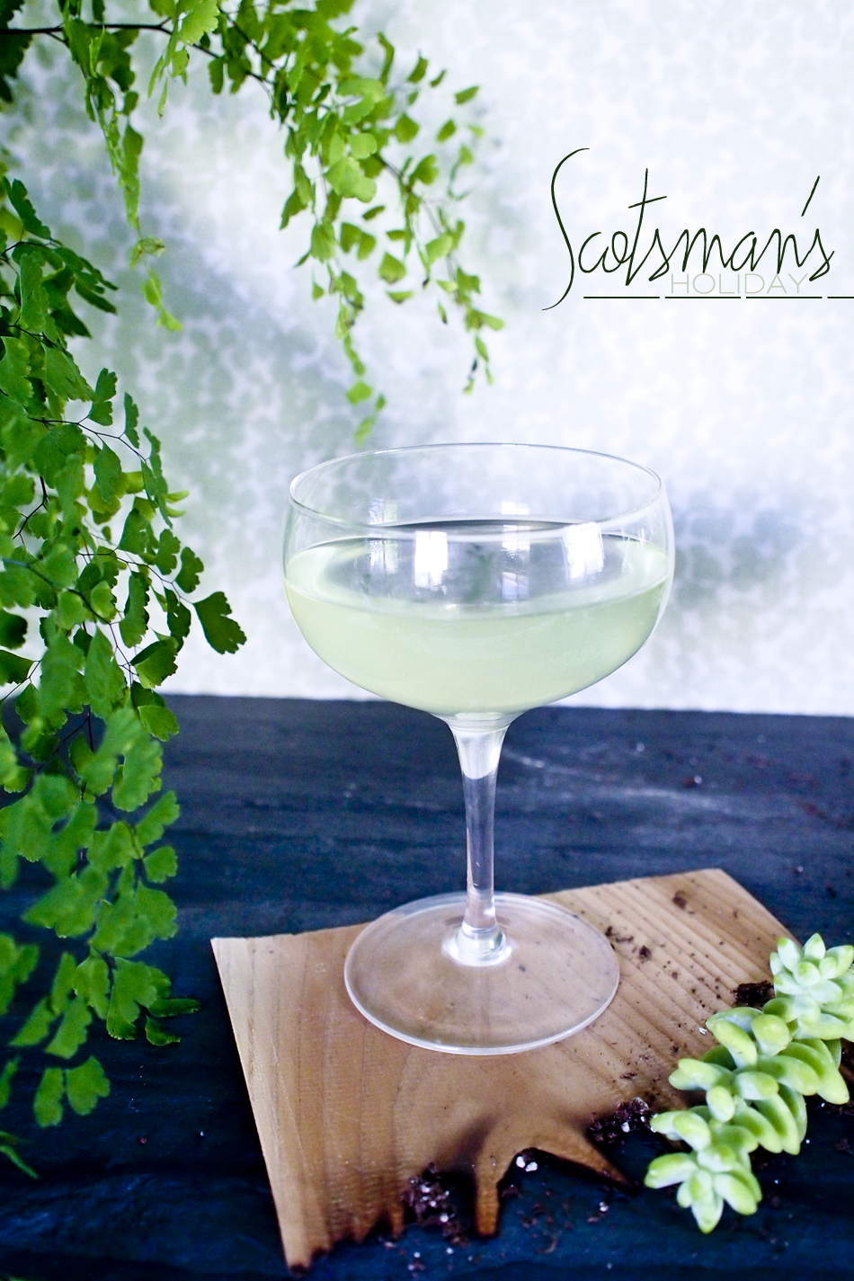 Dine X Design | Scotsman's Holiday Cocktail Recipe